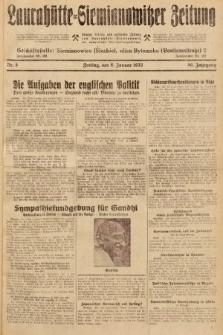 Laurahütte-Siemianowitzer Zeitung : enzige älteste und gelesenste Zeitung von Laurahütte-Siemianowitz mit wöchentlicher Unterhaitungsbeilage. 1932, nr5