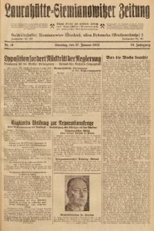 Laurahütte-Siemianowitzer Zeitung : enzige älteste und gelesenste Zeitung von Laurahütte-Siemianowitz mit wöchentlicher Unterhaitungsbeilage. 1932, nr10
