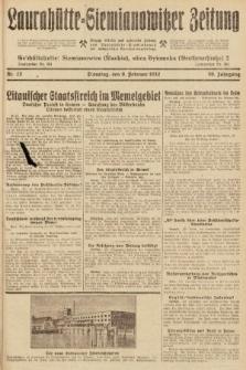 Laurahütte-Siemianowitzer Zeitung : enzige älteste und gelesenste Zeitung von Laurahütte-Siemianowitz mit wöchentlicher Unterhaitungsbeilage. 1932, nr22