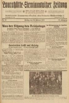 Laurahütte-Siemianowitzer Zeitung : enzige älteste und gelesenste Zeitung von Laurahütte-Siemianowitz mit wöchentlicher Unterhaitungsbeilage. 1932, nr32