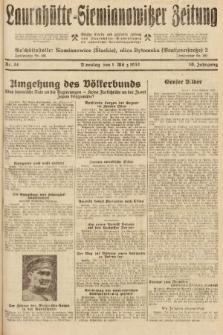 Laurahütte-Siemianowitzer Zeitung : enzige älteste und gelesenste Zeitung von Laurahütte-Siemianowitz mit wöchentlicher Unterhaitungsbeilage. 1932, nr34