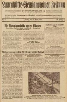Laurahütte-Siemianowitzer Zeitung : enzige älteste und gelesenste Zeitung von Laurahütte-Siemianowitz mit wöchentlicher Unterhaitungsbeilage. 1932, nr44