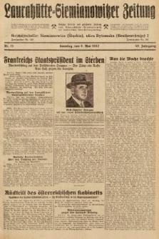 Laurahütte-Siemianowitzer Zeitung : enzige älteste und gelesenste Zeitung von Laurahütte-Siemianowitz mit wöchentlicher Unterhaitungsbeilage. 1932, nr71