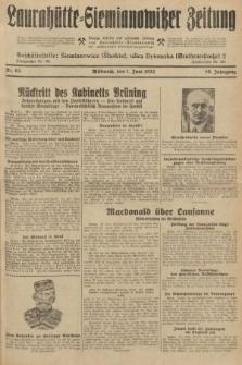 Laurahütte-Siemianowitzer Zeitung : enzige älteste und gelesenste Zeitung von Laurahütte-Siemianowitz mit wöchentlicher Unterhaitungsbeilage. 1932, nr83