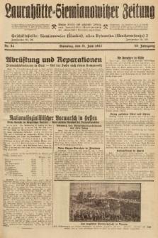 Laurahütte-Siemianowitzer Zeitung : enzige älteste und gelesenste Zeitung von Laurahütte-Siemianowitz mit wöchentlicher Unterhaitungsbeilage. 1932, nr94