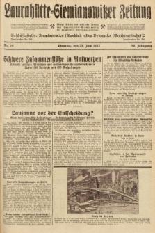 Laurahütte-Siemianowitzer Zeitung : enzige älteste und gelesenste Zeitung von Laurahütte-Siemianowitz mit wöchentlicher Unterhaitungsbeilage. 1932, nr98