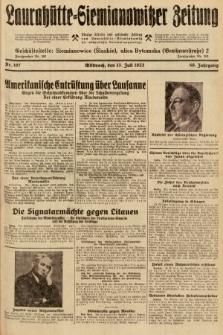 Laurahütte-Siemianowitzer Zeitung : enzige älteste und gelesenste Zeitung von Laurahütte-Siemianowitz mit wöchentlicher Unterhaitungsbeilage. 1932, nr107