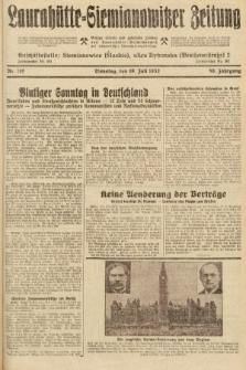 Laurahütte-Siemianowitzer Zeitung : enzige älteste und gelesenste Zeitung von Laurahütte-Siemianowitz mit wöchentlicher Unterhaitungsbeilage. 1932, nr110