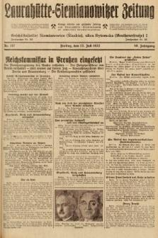 Laurahütte-Siemianowitzer Zeitung : enzige älteste und gelesenste Zeitung von Laurahütte-Siemianowitz mit wöchentlicher Unterhaitungsbeilage. 1932, nr112