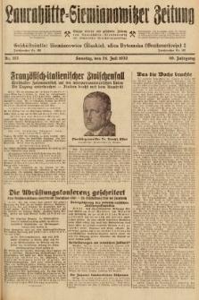 Laurahütte-Siemianowitzer Zeitung : enzige älteste und gelesenste Zeitung von Laurahütte-Siemianowitz mit wöchentlicher Unterhaitungsbeilage. 1932, nr113