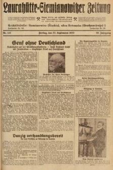 Laurahütte-Siemianowitzer Zeitung : enzige älteste und gelesenste Zeitung von Laurahütte-Siemianowitz mit wöchentlicher Unterhaitungsbeilage. 1932, nr147