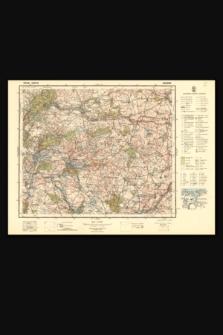 Mapa taktyczna Polski : pas 35, słup 25 : Więcbork