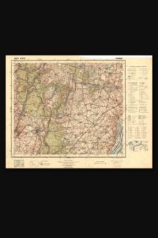 Mapa taktyczna Polski : pas 35, słup 26 : Koronowo