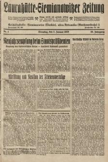 Laurahütte-Siemianowitzer Zeitung : enzige älteste und gelesenste Zeitung von Laurahütte-Siemianowitz mit wöchentlicher Unterhaitungsbeilage. 1928, nr2