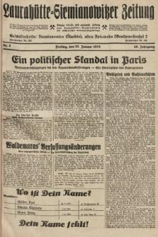 Laurahütte-Siemianowitzer Zeitung : enzige älteste und gelesenste Zeitung von Laurahütte-Siemianowitz mit wöchentlicher Unterhaitungsbeilage. 1928, nr8