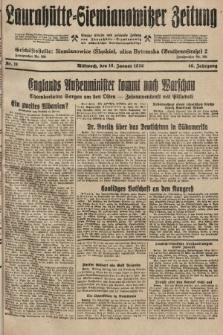 Laurahütte-Siemianowitzer Zeitung : enzige älteste und gelesenste Zeitung von Laurahütte-Siemianowitz mit wöchentlicher Unterhaitungsbeilage. 1928, nr11
