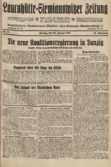 Laurahütte-Siemianowitzer Zeitung : enzige älteste und gelesenste Zeitung von Laurahütte-Siemianowitz mit wöchentlicher Unterhaitungsbeilage. 1928, nr12