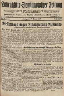 Laurahütte-Siemianowitzer Zeitung : enzige älteste und gelesenste Zeitung von Laurahütte-Siemianowitz mit wöchentlicher Unterhaitungsbeilage. 1928, nr16