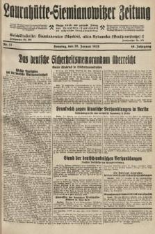 Laurahütte-Siemianowitzer Zeitung : enzige älteste und gelesenste Zeitung von Laurahütte-Siemianowitz mit wöchentlicher Unterhaitungsbeilage. 1928, nr17