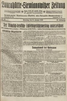 Laurahütte-Siemianowitzer Zeitung : enzige älteste und gelesenste Zeitung von Laurahütte-Siemianowitz mit wöchentlicher Unterhaitungsbeilage. 1928, nr18