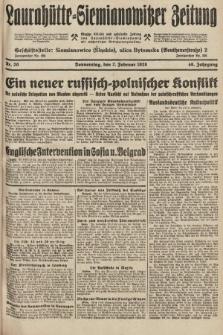 Laurahütte-Siemianowitzer Zeitung : enzige älteste und gelesenste Zeitung von Laurahütte-Siemianowitz mit wöchentlicher Unterhaitungsbeilage. 1928, nr20