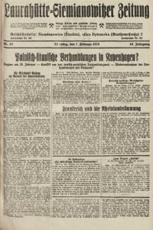 Laurahütte-Siemianowitzer Zeitung : enzige älteste und gelesenste Zeitung von Laurahütte-Siemianowitz mit wöchentlicher Unterhaitungsbeilage. 1928, nr22