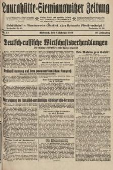 Laurahütte-Siemianowitzer Zeitung : enzige älteste und gelesenste Zeitung von Laurahütte-Siemianowitz mit wöchentlicher Unterhaitungsbeilage. 1928, nr23