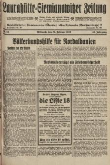 Laurahütte-Siemianowitzer Zeitung : enzige älteste und gelesenste Zeitung von Laurahütte-Siemianowitz mit wöchentlicher Unterhaitungsbeilage. 1928, nr35
