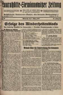 Laurahütte-Siemianowitzer Zeitung : enzige älteste und gelesenste Zeitung von Laurahütte-Siemianowitz mit wöchentlicher Unterhaitungsbeilage. 1928, nr39
