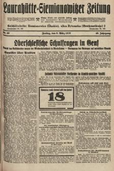 Laurahütte-Siemianowitzer Zeitung : enzige älteste und gelesenste Zeitung von Laurahütte-Siemianowitz mit wöchentlicher Unterhaitungsbeilage. 1928, nr40
