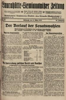 Laurahütte-Siemianowitzer Zeitung : enzige älteste und gelesenste Zeitung von Laurahütte-Siemianowitz mit wöchentlicher Unterhaitungsbeilage. 1928, nr43