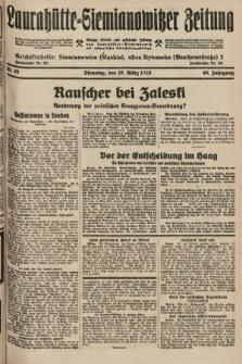 Laurahütte-Siemianowitzer Zeitung : enzige älteste und gelesenste Zeitung von Laurahütte-Siemianowitz mit wöchentlicher Unterhaitungsbeilage. 1928, nr46