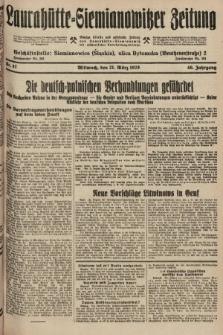 Laurahütte-Siemianowitzer Zeitung : enzige älteste und gelesenste Zeitung von Laurahütte-Siemianowitz mit wöchentlicher Unterhaitungsbeilage. 1928, nr47