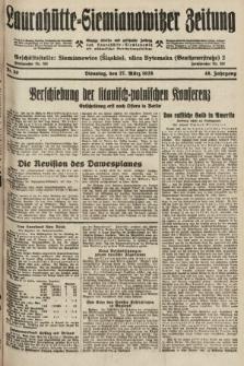 Laurahütte-Siemianowitzer Zeitung : enzige älteste und gelesenste Zeitung von Laurahütte-Siemianowitz mit wöchentlicher Unterhaitungsbeilage. 1928, nr50