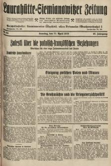 Laurahütte-Siemianowitzer Zeitung : enzige älteste und gelesenste Zeitung von Laurahütte-Siemianowitz mit wöchentlicher Unterhaitungsbeilage. 1928, nr64