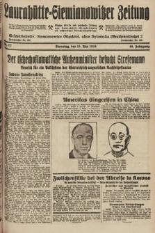 Laurahütte-Siemianowitzer Zeitung : enzige älteste und gelesenste Zeitung von Laurahütte-Siemianowitz mit wöchentlicher Unterhaitungsbeilage. 1928, nr77