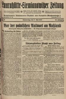 Laurahütte-Siemianowitzer Zeitung : enzige älteste und gelesenste Zeitung von Laurahütte-Siemianowitz mit wöchentlicher Unterhaitungsbeilage. 1928, nr79
