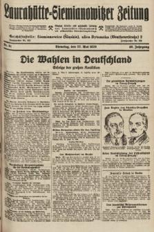 Laurahütte-Siemianowitzer Zeitung : enzige älteste und gelesenste Zeitung von Laurahütte-Siemianowitz mit wöchentlicher Unterhaitungsbeilage. 1928, nr81