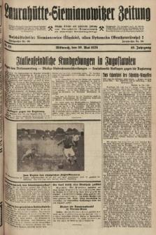 Laurahütte-Siemianowitzer Zeitung : enzige älteste und gelesenste Zeitung von Laurahütte-Siemianowitz mit wöchentlicher Unterhaitungsbeilage. 1928, nr85