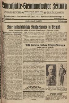 Laurahütte-Siemianowitzer Zeitung : enzige älteste und gelesenste Zeitung von Laurahütte-Siemianowitz mit wöchentlicher Unterhaitungsbeilage. 1928, nr86