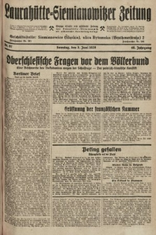 Laurahütte-Siemianowitzer Zeitung : enzige älteste und gelesenste Zeitung von Laurahütte-Siemianowitz mit wöchentlicher Unterhaitungsbeilage. 1928, nr87