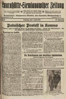 Laurahütte-Siemianowitzer Zeitung : enzige älteste und gelesenste Zeitung von Laurahütte-Siemianowitz mit wöchentlicher Unterhaitungsbeilage. 1928, nr88