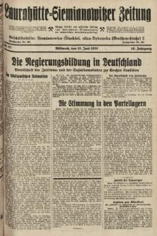 Laurahütte-Siemianowitzer Zeitung : enzige älteste und gelesenste Zeitung von Laurahütte-Siemianowitz mit wöchentlicher Unterhaitungsbeilage. 1928, nr93