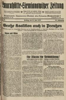 Laurahütte-Siemianowitzer Zeitung : enzige älteste und gelesenste Zeitung von Laurahütte-Siemianowitz mit wöchentlicher Unterhaitungsbeilage. 1928, nr94