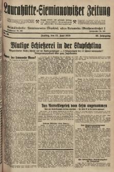 Laurahütte-Siemianowitzer Zeitung : enzige älteste und gelesenste Zeitung von Laurahütte-Siemianowitz mit wöchentlicher Unterhaitungsbeilage. 1928, nr98