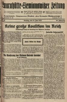 Laurahütte-Siemianowitzer Zeitung : enzige älteste und gelesenste Zeitung von Laurahütte-Siemianowitz mit wöchentlicher Unterhaitungsbeilage. 1928, nr99