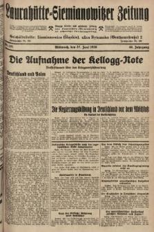 Laurahütte-Siemianowitzer Zeitung : enzige älteste und gelesenste Zeitung von Laurahütte-Siemianowitz mit wöchentlicher Unterhaitungsbeilage. 1928, nr101