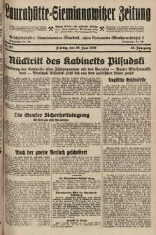 Laurahütte-Siemianowitzer Zeitung : enzige älteste und gelesenste Zeitung von Laurahütte-Siemianowitz mit wöchentlicher Unterhaitungsbeilage. 1928, nr102