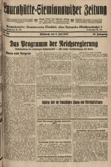 Laurahütte-Siemianowitzer Zeitung : enzige älteste und gelesenste Zeitung von Laurahütte-Siemianowitz mit wöchentlicher Unterhaitungsbeilage. 1928, nr105