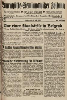 Laurahütte-Siemianowitzer Zeitung : enzige älteste und gelesenste Zeitung von Laurahütte-Siemianowitz mit wöchentlicher Unterhaitungsbeilage. 1928, nr106